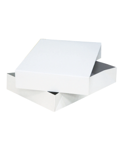 White outer gift box