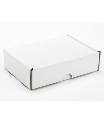 Six choc white outer box