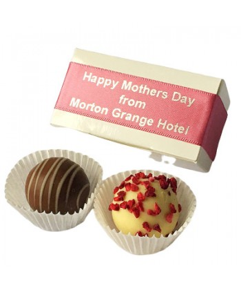 Mother's Day Personalised 2 Choc Favour