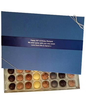 Personalised 48 Choc Gift Box