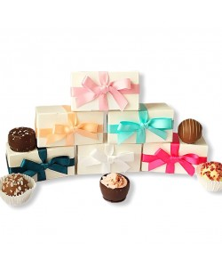 2 Choc Favours with Bow