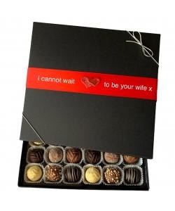 24 Choc Personalised Valentine's Box
