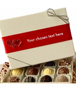 Personalised Valentine's Chocolate Hamper