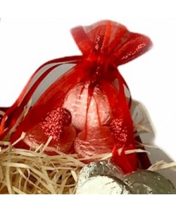 Personalised Luxury Valentines Chocolate Hamper