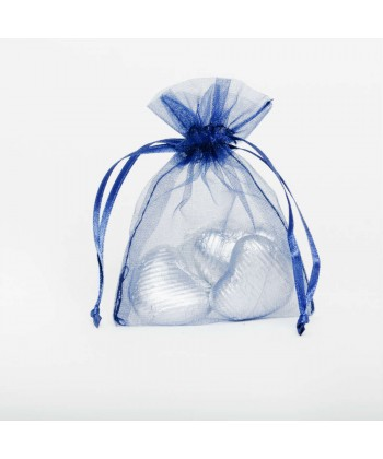 Organza Bag - Dark Blue