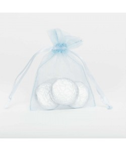 Organza Bag - Pale Blue