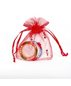 Organza Bag - Red