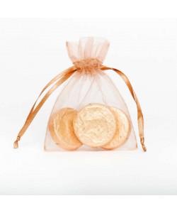Organza Bag - Caramel