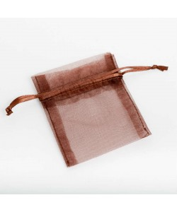 Organza Bag - Brown