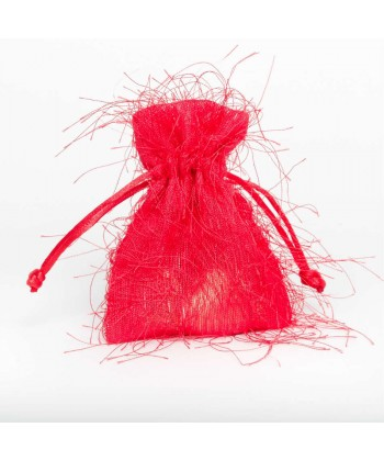 Fringed Pouch - Red