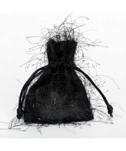 Fringed Pouch - Black
