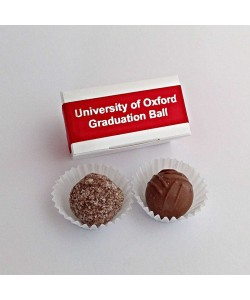 Two Choc Graduation Box - Red