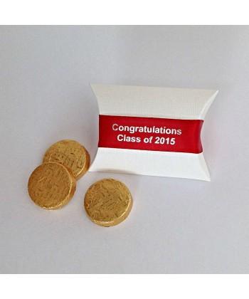 Graduation Pillow Box - Red