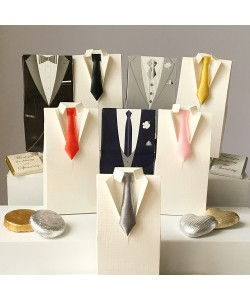 Men's Tuxedo Favour Boxes from £1.25