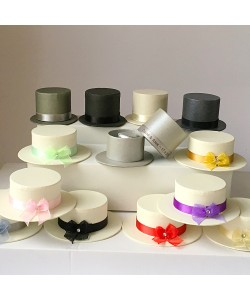 Men's Top Hats & Ladies Boater Favours
