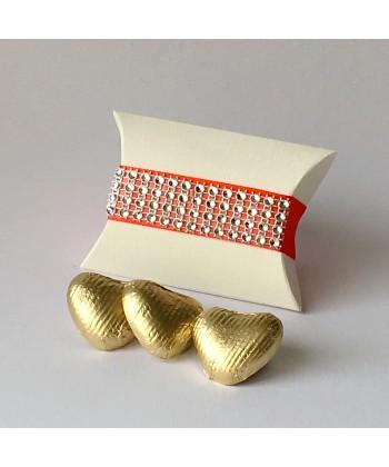 Pillow Glitz - Coral