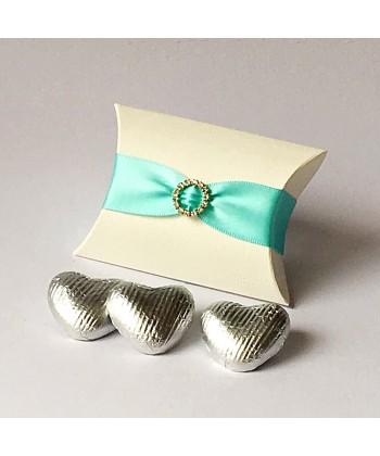 Pillow Diamanté - Aqua