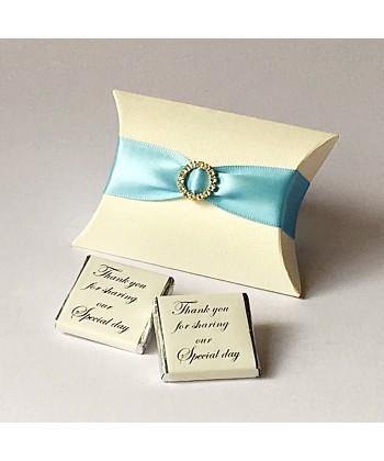 Pillow Diamanté - Blue