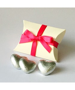 Fuchsia Pink Pillow Bow Favours