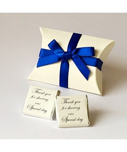 Pillow Bow - Royal blue