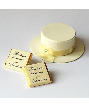 Ladies Boater - Cream