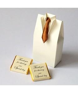Satin Tie Tuxedo - Copper