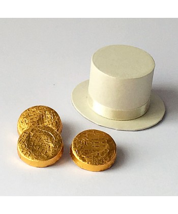 Top Hat - Ivory