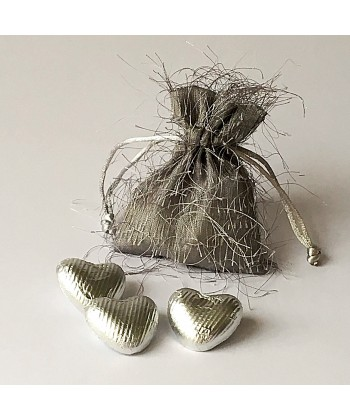 Fringed Pouch - Silver