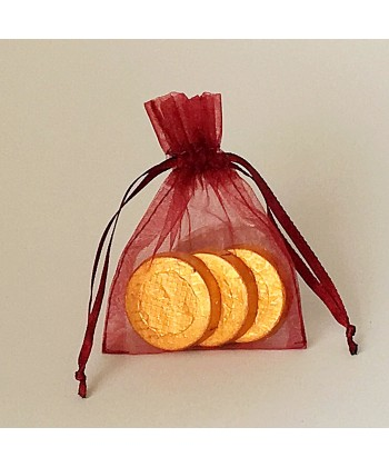 Organza Bag - Burgundy