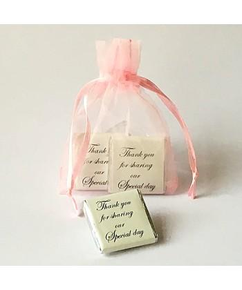 Organza Bag - Pink