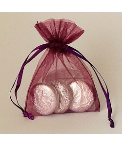 Organza Bag - Aubergine