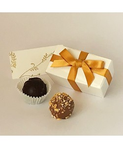 2 Choc Bow - Old Gold