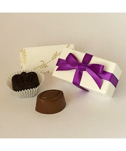 2 Choc Bow - Purple