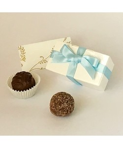 2 Choc Bow - Blue