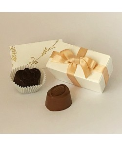 2  Choc Bow - Coffee