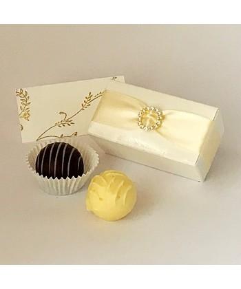 2 Choc Diamanté - Cream