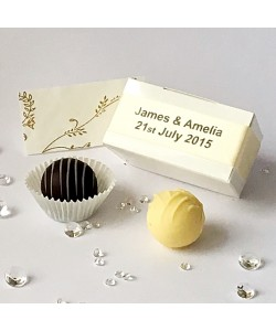 2 Choc Personalised - Cream