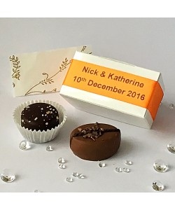 2 Choc Personalised - Orange