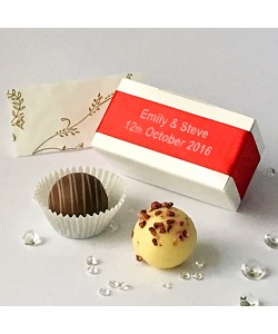 2 Choc Personalised - Red