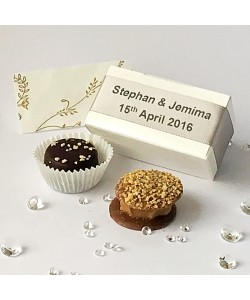 2 Choc Personalised - Silver