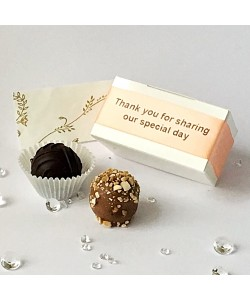 2 Choc Personalised - Peach
