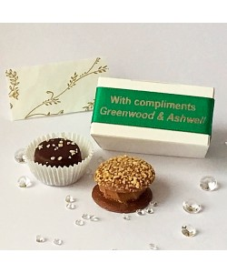 2 Choc Personalised -  Emerald
