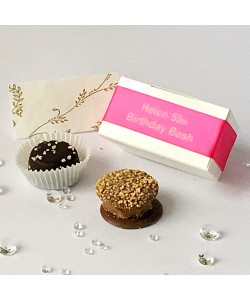 2 Choc Personalised - Fuchsia