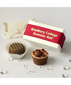 2 Choc Personalised - Burgundy