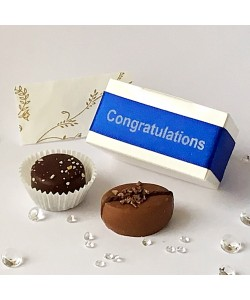 2 Choc Personalised - Royal Blue