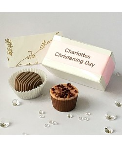 2 Choc Personalised - Pink