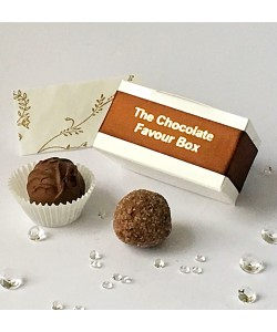 2 Choc Personalised - Brown