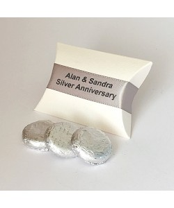 Pillow Personalised - Silver