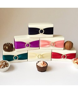 Two Choc Diamanté  Boxes £2.25