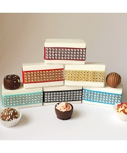 Two Choc Glitz Boxes £2.25